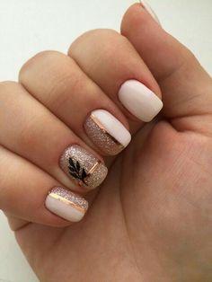 150 cute nail art designs for short nails 2019 9 + Cute Nail Art Designs, Short Nail Designs, Summer Nail Designs, Latest Nail Designs, Cute Nails, Pretty Nails, My Nails, Glitter Nails, Pink Nails