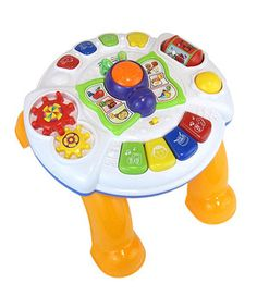 Look what I found on #zulily! Learn & Play Music Table by DIY KIDS #zulilyfinds
