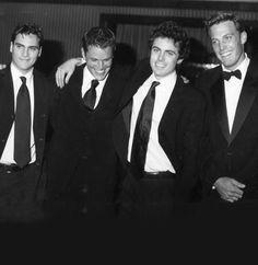 Ben, Casey Affleck, Matt Damon and Joaquin Phoenix