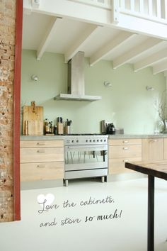 Gorgeous Rotterdam Home. Next to the bedroom my kitchen is the most important part of my living space.