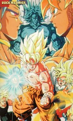 Goku And Gohan Dbz Son Dragon Ball Z Super Saiyan