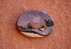 Picture Jasper Cabochon by rareearthstudios on Etsy, $150.00  This is ACTUALLY the most beautiful stone I have seen. Looks like a miniature painting.