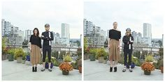 switcheroo. awesome collection of portraits switching their outfits. by sincerely hana.