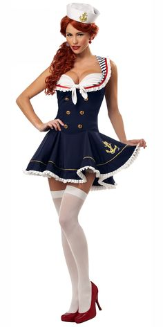 Nautical Doll Sailor Costume