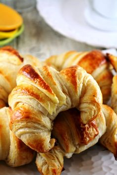 Top 10 Best Pastry Recipes - this is a Classic Buttery Croissant