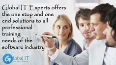 #GlobalITExperts offers the one stop and one end solutions to all #professionaltraining needs of the software industry
