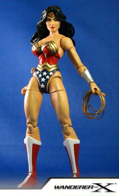 WONDER WOMAN (Marvel Legends Style) (Marvel Legends) Custom Action Figure