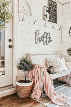You will love these gorgeous home décor ideas for your porch entryway kitchen living room bedroom and bathroom. In all the styles including modern country farmhouse rustic traditional and bohemian. Living Room Designs, Living Room Decor, Living Spaces, Bedroom Decor, Tiny Living, Modern Bedroom, Budget Bedroom, Bedroom Designs, Bedroom Ideas