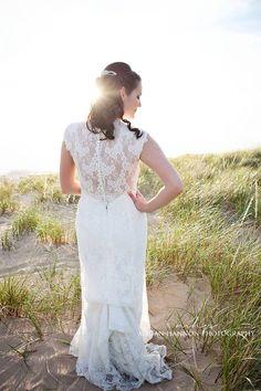 Wedding photography inspiration. Wedding dress. Lace wedding gown. Beautiful wedding gown. Beach wedding inspiration. Wedding photography inspiration. Bridal photography inspiration. Bride.
