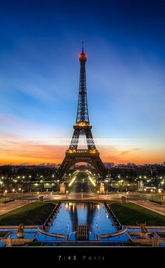 Tour Eiffel - Paris by Beboy
