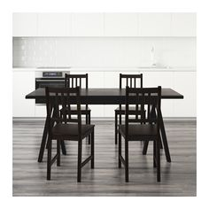 RYGGESTAD/GREBBESTAD / STEFAN Table and 4 chairs  - IKEA