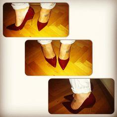 maroon heels love it