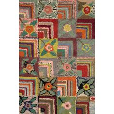 Test drive this rug in your space.Order a swatch by adding it to your cart.Our wool hooked area rugs are hand hooked with loops of 100% wool yarn creating thick cushy pile. Each rug is finished with a cotton canvas backing, attached with latex.