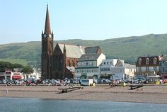 Largs - Ayrshire, Scotland...besides being beautiful, another reason to go? Nardini's!!!! Yes!!!!