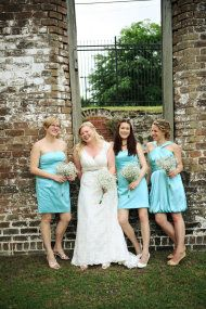 Savannah Wedding at Roundhouse Museum from LeeAnn Ritch Photography | Style Me Pretty
