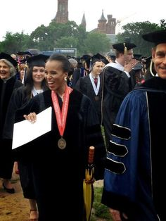 Kerry Washington at the 2013 George Washington University Commencement ceremony!   George Washington University will award Kerry Washington with a honorary degree - Doctor of Fine Arts, honoris causa.