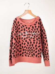 BOBO CHOSES Leopard sweatshirt
