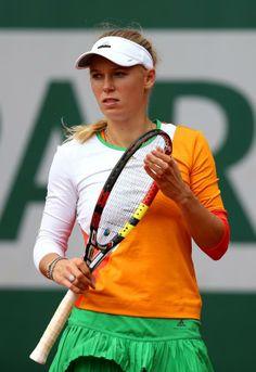 Caroline Wozniacki #tennis #RolandGarros #clay #tenis @JugamosTenis