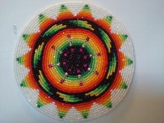 Native+American+Beadwork+for+Sale | Medallion by Gen | Native American Beadwork