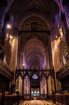 Washington National Cathedral, Washington, DC - Good Friday 2015 by Tom Courtney