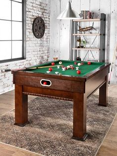 Bumper Pool Table This Is A MUST Have In My Home Pool Table - Genuine slate playfield pool table