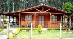 Wood House Design, Village House Design, Village Houses, Small House Design, Best Tiny House, Cute House, Cabins In The Woods, House In The Woods, One Bedroom House