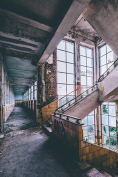 Corridor, Exploration, Urban Decay, Cage, Environment, Backgrounds, Mood, Architecture, Building