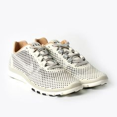 Nike, shoe, mesh, pattern, leather, white