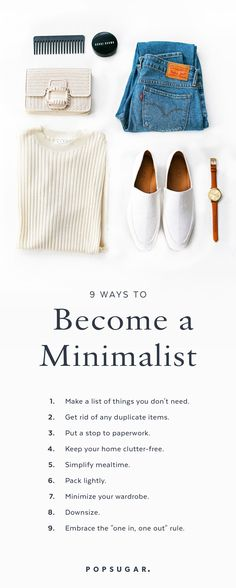 Embracing a minimalist lifestyle can mean a healthier body, mind, and home — and…
