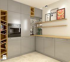 Dom w Opolu - Średnia kuchnia, styl nowoczesny - zdjęcie od WERDHOME