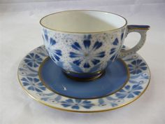 Arabia of finland china ara86 pattern cup and saucer