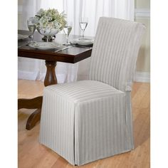 Dining Chair Slipcover - A Collection by Anglina - Favorave