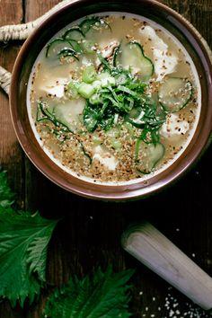 Hiyajiru (Japanese Cold Soup)