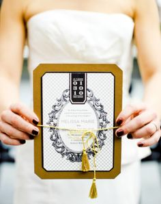 black and gold wedding | ... CANDY: Chic Black and Gold Color Pallette! - Project Wedding Forums