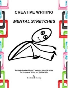 $ From the creator: The brain needs stretching activities just like the body does. This list has been expanded to 50 brief writing ideas so Middle School and High School students can get their creative juices flowing. They are meant for a 5-10 minute writing session at the beginning of class while the teacher takes role and the students settle into learning.Although I begin my creative writing classes with this activity, teachers should use it with their English classes to help the students…