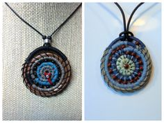 I will be teaching this pine needle pendant class on  February 15th. Go to my web page at www.pineneedlecreation.com and click on the workshop page. Hope to inspire more people learn to coil!
