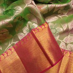 Lotus Theonestore (@lotus_theonestore) • Instagram photos and videos Tussar Silk Saree, Pure Silk Sarees, Saree Blouse Patterns, Saree Blouse Designs, Wedding Silk Saree, Wedding Dress, Bollywood, Indian Fashion, Women's Fashion