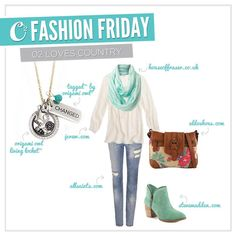 Origami Owl lockets can go casual.  Love this look! www.erin.origamiowl.com