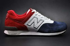 Francophile Footwear - The New Balance 576 'France' is Pepe Le Pew-Approved (GALLERY)