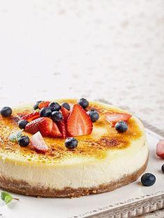Чизкейк с ягодами - фото рецепт
