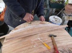 Fabrication de boucliers Lenticulaire