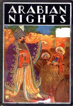 THE ARABIAN NIGHTS ENTERTAINMENTS   Illustrated by Milo Winter    Chicago RAND MCNALLY & COMPANY 1914