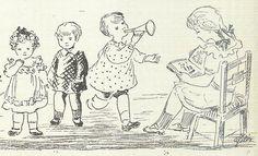 """""""Meditação do Natal, a literatura da infância"""", por Adolfo Simões Muller, ilustrações de Ofélia Marques. - Panorama, No. 22, 1944 - 23a"""