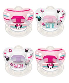 Look at this NUK Disney® Minnie Mouse Orthodontic Pacifier - Set of 8 on #zulily today!