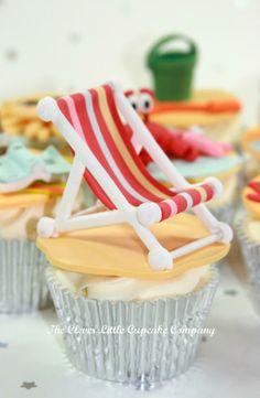 clever little cupcake company - birthday - birthday cupcakes - beach cupcakes