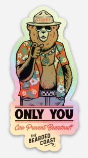 Stokey Says Sticker - LIMITED EDITION