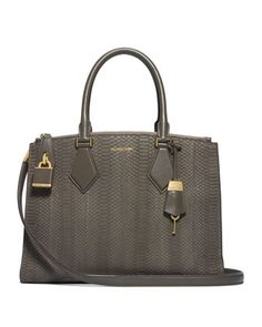 +Large+Casey+Sueded+Snake+Satchel+by+Michael+Kors+at+Neiman+Marcus.