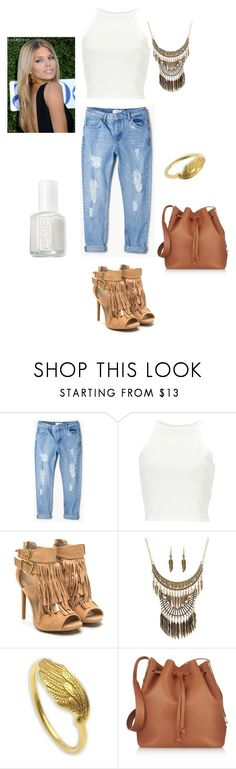 """""""Marion."""" by marion31 ❤ liked on Polyvore featuring MANGO, Ruby Rocks, NOVICA, Sophie Hulme and Essie"""