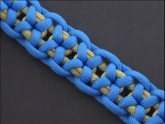 ▶ How to Make the Harbin Bar (Paracord) Bracelet by TIAT - YouTube