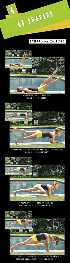 Abs Workout. Transform yourself & Your life, get fit & healthy.